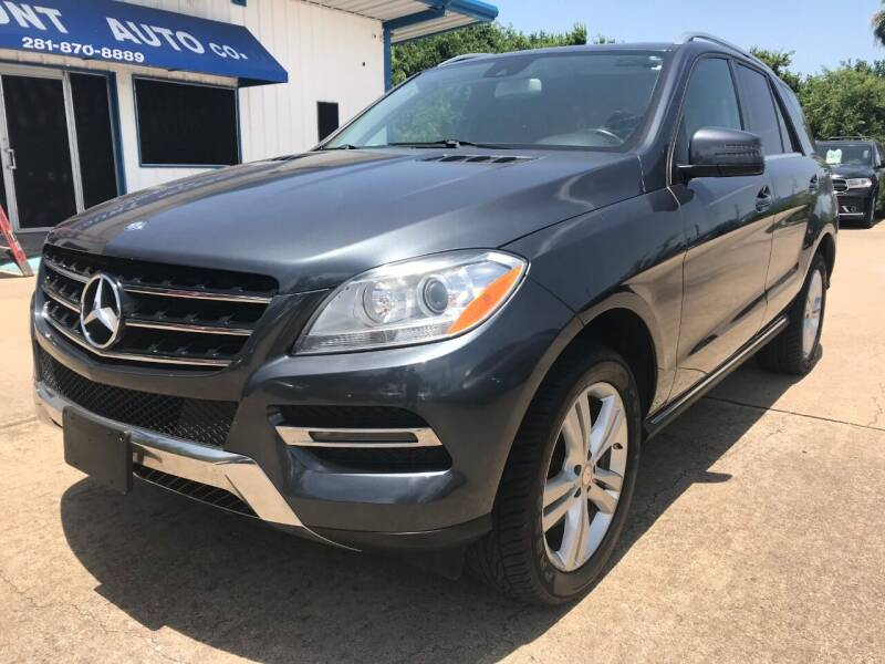 2015 Mercedes-Benz M-Class for sale at Discount Auto Company in Houston TX