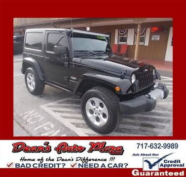 2014 Jeep Wrangler for sale at Dean's Auto Plaza in Hanover PA