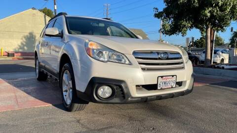 2013 Subaru Outback for sale at Tristar Motors in Bell CA
