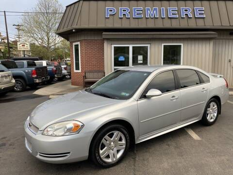 2012 Chevrolet Impala for sale at Premiere Auto Sales in Washington PA