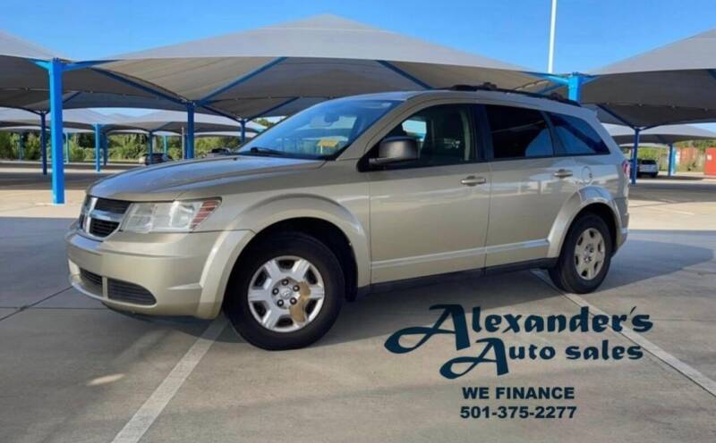 2010 Dodge Journey for sale at Alexander's Auto Sales in North Little Rock AR
