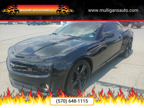 2011 Chevrolet Camaro for sale at Mulligan's Auto Exchange LLC in Paxinos PA