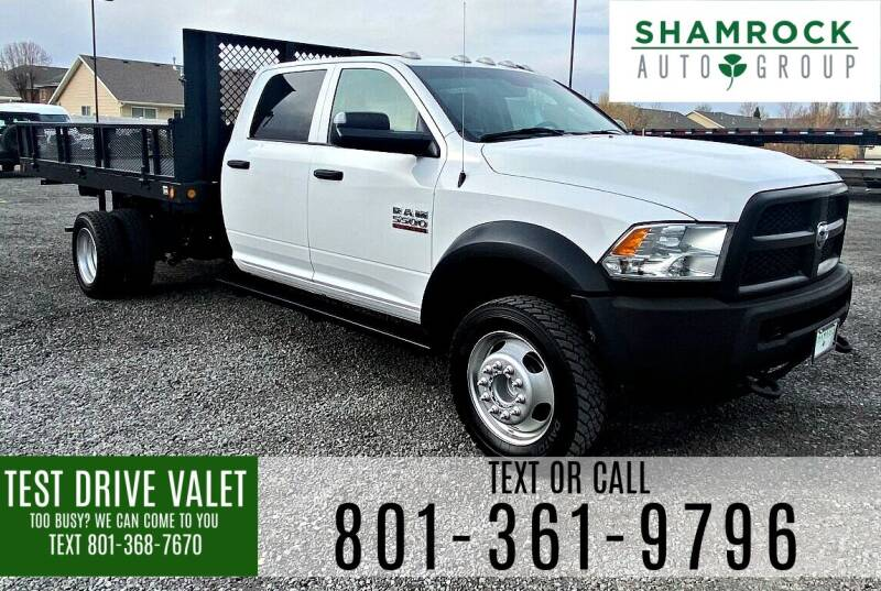 2014 RAM Ram Chassis 5500 for sale at Shamrock Group LLC #1 in Pleasant Grove UT