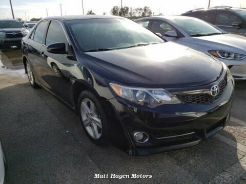 2013 Toyota Camry for sale at Matt Hagen Motors in Newport NC
