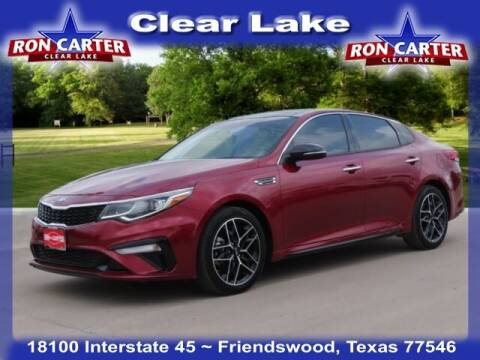 2020 Kia Optima for sale at Ron Carter  Clear Lake Used Cars in Houston TX