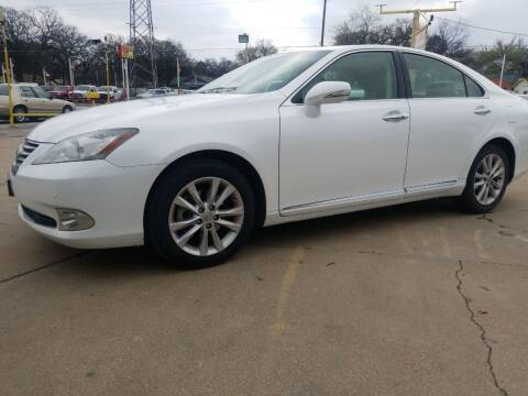 2011 Lexus ES 350 for sale at Nile Auto in Fort Worth TX