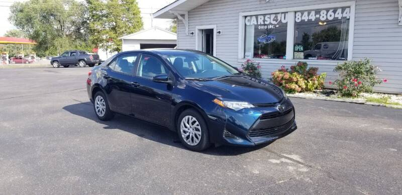 2019 Toyota Corolla for sale at Cars 4 U in Liberty Township OH