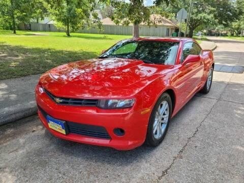 2014 Chevrolet Camaro for sale at Amazon Autos in Houston TX