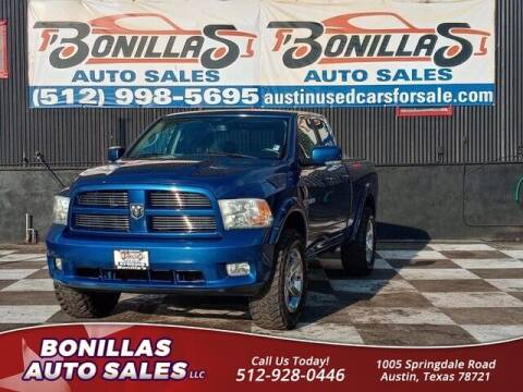 2010 Dodge Ram Pickup 1500 for sale at Bonillas Auto Sales in Austin TX
