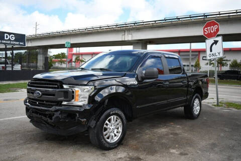 2018 Ford F-150 for sale at ELITE MOTOR CARS OF MIAMI in Miami FL