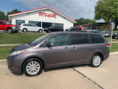 2011 Toyota Sienna for sale at Efkamp Auto Sales LLC in Des Moines IA