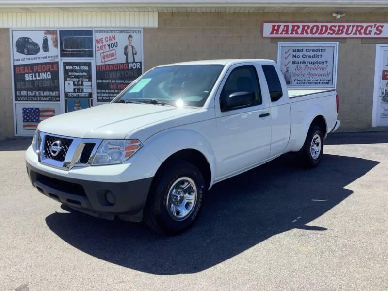 2017 Nissan Frontier for sale at Auto Martt, LLC in Harrodsburg KY