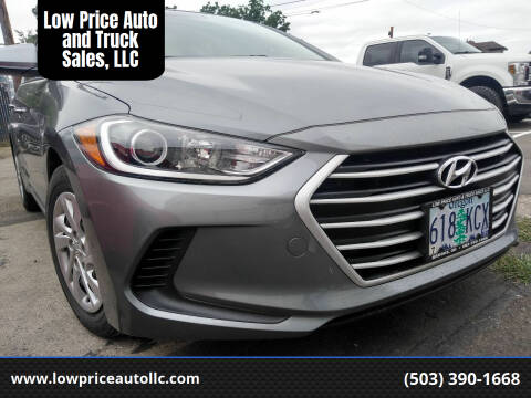 2017 Hyundai Elantra for sale at Low Price Auto and Truck Sales, LLC in Salem OR
