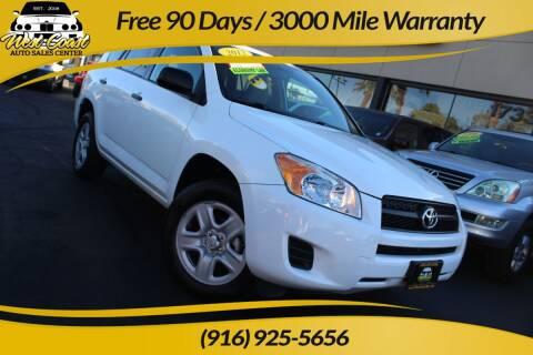2012 Toyota RAV4 for sale at West Coast Auto Sales Center in Sacramento CA