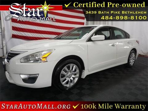 2015 Nissan Altima for sale at STAR AUTO MALL 512 in Bethlehem PA