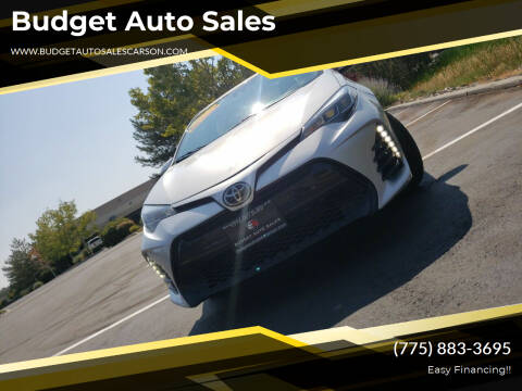 2017 Toyota Corolla for sale at Budget Auto Sales in Carson City NV
