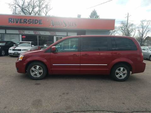 2008 Dodge Grand Caravan for sale at RIVERSIDE AUTO SALES in Sioux City IA