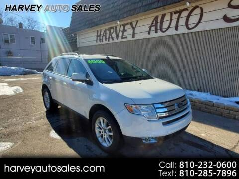 2009 Ford Edge for sale at Harvey Auto Sales, LLC. in Flint MI