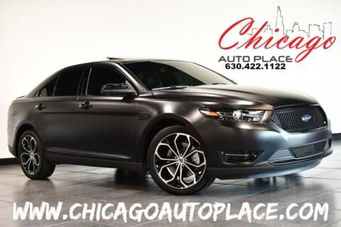 2018 Ford Taurus for sale at Chicago Auto Place in Bensenville IL