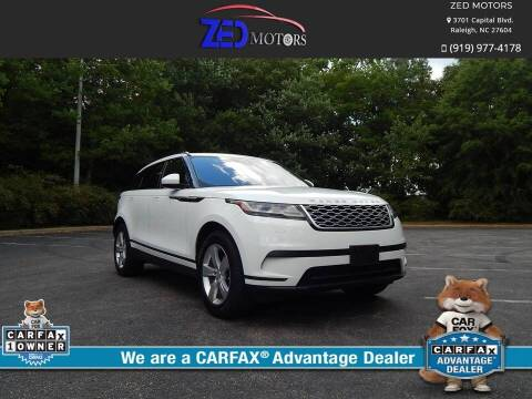 2018 Land Rover Range Rover Velar for sale at Zed Motors in Raleigh NC