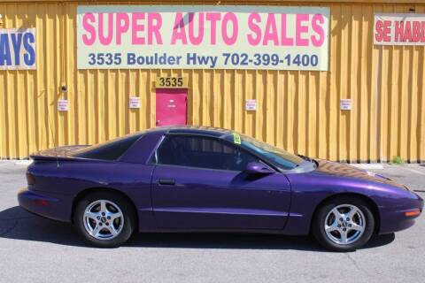 1997 Pontiac Firebird for sale at Super Auto Sales in Las Vegas NV