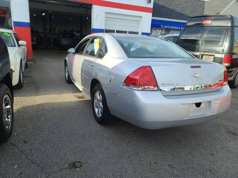 2011 Chevrolet Impala for sale at TC Auto Repair and Sales Inc in Abington MA