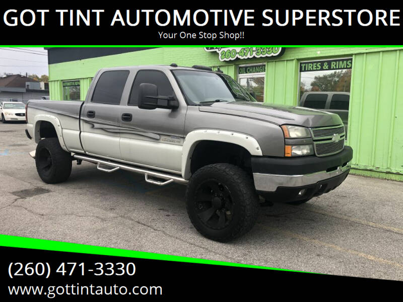 2006 Chevrolet Silverado 2500HD for sale at GOT TINT AUTOMOTIVE SUPERSTORE in Fort Wayne IN