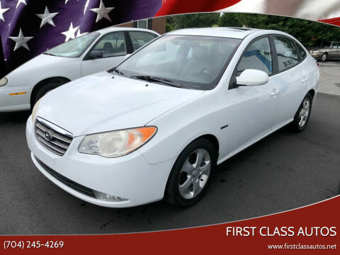 2007 Hyundai Elantra for sale at First Class Autos in Maiden NC
