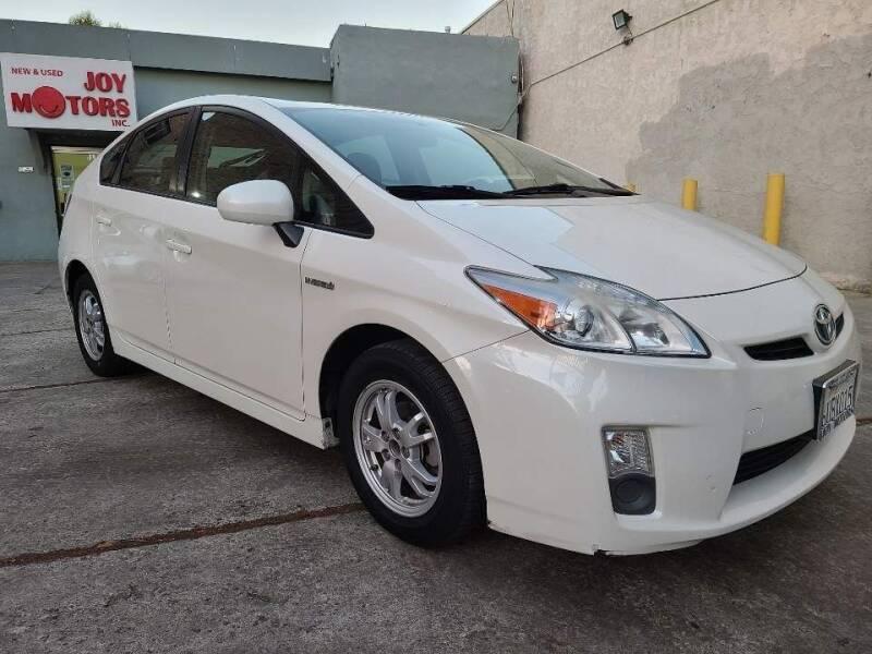 2011 Toyota Prius for sale at Joy Motors in Los Angeles CA