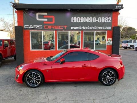 2017 Toyota 86 for sale at Cars Direct in Ontario CA