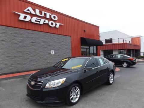 2013 Chevrolet Malibu for sale at Auto Depot of Smyrna in Smyrna TN