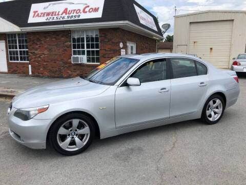 2007 BMW 5 Series for sale at tazewellauto.com in Tazewell TN