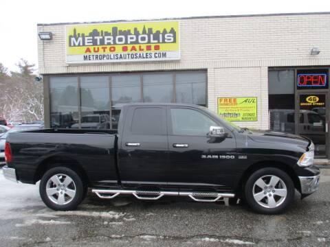 2011 RAM Ram Pickup 1500 for sale at Metropolis Auto Sales in Pelham NH