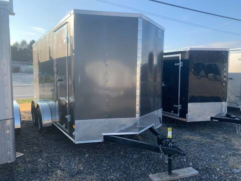 2021 Wells Cargo 7x14 Fast Trac Deluxe for sale at Smart Choice 61 Trailers in Shoemakersville PA
