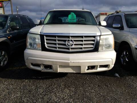 2002 Cadillac Escalade EXT for sale at 2 Way Auto Sales in Spokane Valley WA