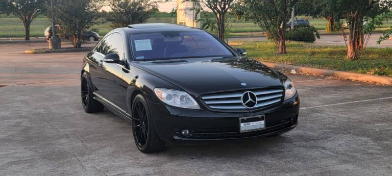 2008 Mercedes-Benz CL-Class for sale at America's Auto Financial in Houston TX