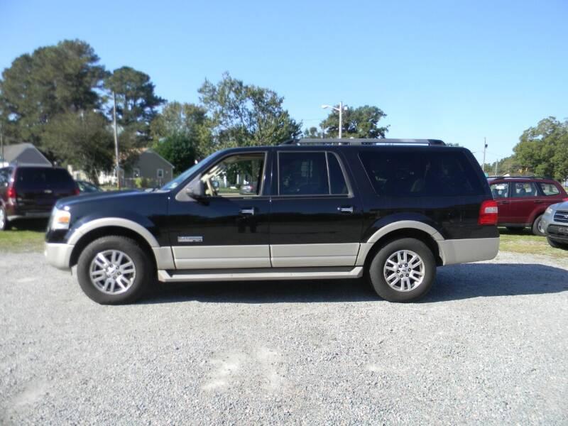 2008 Ford Expedition EL for sale at SeaCrest Sales, LLC in Elizabeth City NC