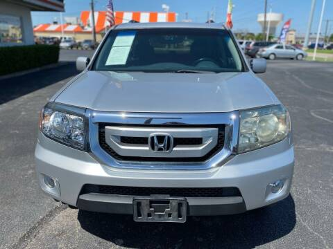 2009 Honda Pilot for sale at Traditional Autos in Dallas TX