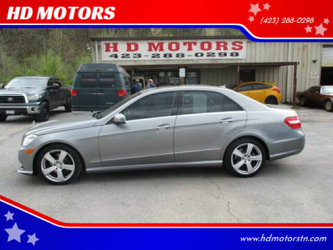2010 Mercedes-Benz E-Class for sale at HD MOTORS in Kingsport TN