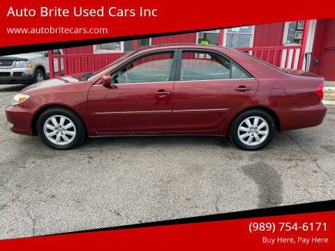 2003 Toyota Camry for sale at Auto Brite Used Cars Inc in Saginaw MI