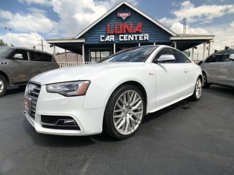2016 Audi S5 for sale at LUNA CAR CENTER in San Antonio TX