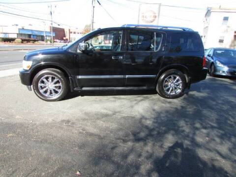 2010 Infiniti QX56 for sale at Nutmeg Auto Wholesalers Inc in East Hartford CT