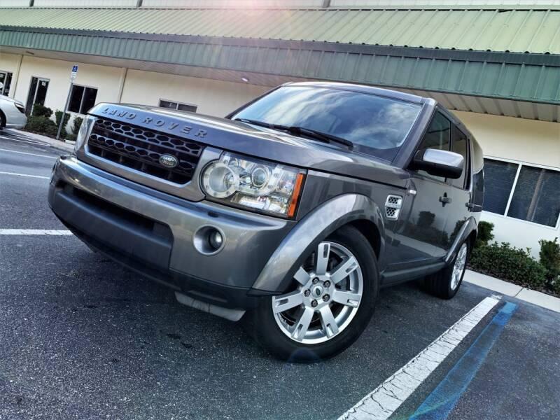 2011 Land Rover LR4 for sale at Fisher Motor Group LLC in Bradenton FL