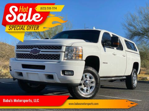 2013 Chevrolet Silverado 2500HD for sale at Baba's Motorsports, LLC in Phoenix AZ
