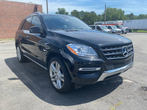 2014 Mercedes-Benz M-Class for sale at City to City Auto Sales in Richmond VA
