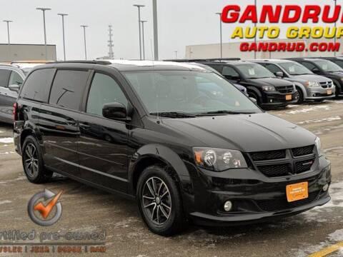 2016 Dodge Grand Caravan for sale at Gandrud Dodge in Green Bay WI