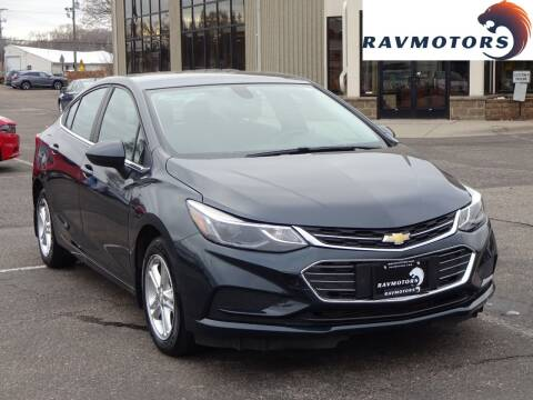 2017 Chevrolet Cruze for sale at RAVMOTORS 2 in Crystal MN