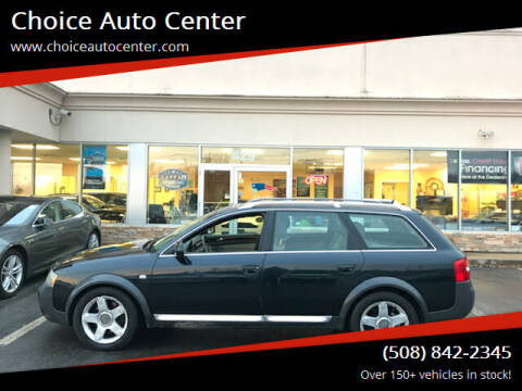 2005 Audi Allroad for sale at Choice Auto Center in Shrewsbury MA