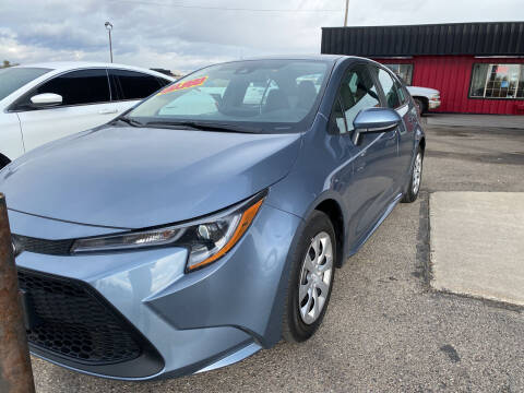 2021 Toyota Corolla for sale at Top Line Auto Sales in Idaho Falls ID