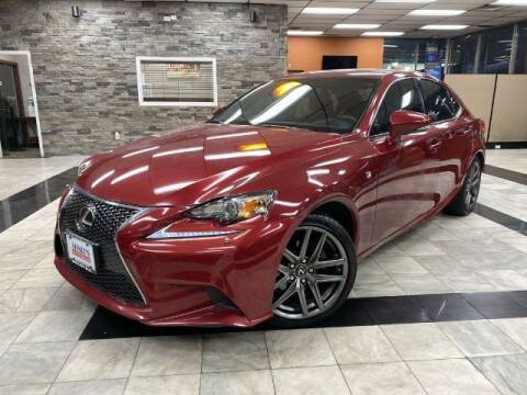 2015 Lexus IS 250 for sale at Sonias Auto Sales in Worcester MA
